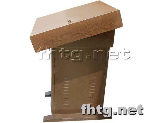 多媒体讲台网提供生产木纹讲台厂家