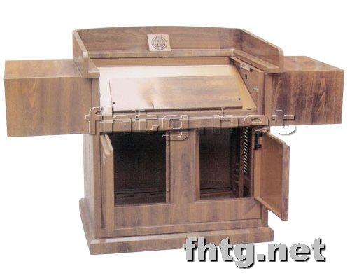 多媒体讲台网提供生产豪华钢制讲台厂家